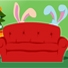 Какво правят зайците по Коледа?
